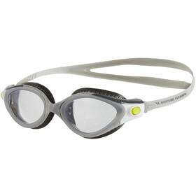 speedo Futura Biofuse Flexiseal Goggle Women USA Charcoal/Cool Grey/Clear